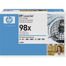 Зареждане на HP 92298X